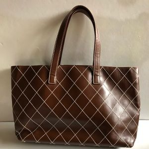 CHANEL Bags - Authentic vintage CHANEL brown leather purse